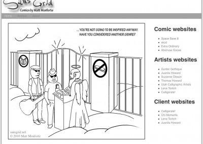 Comic Website