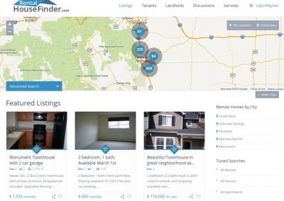 Homes for Rent Real Estate Website