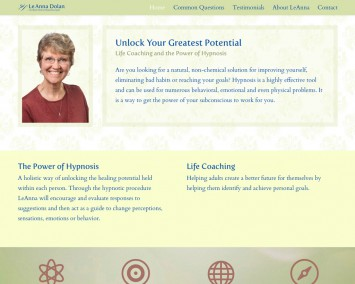 Hypnotherapist LeAnna Dolan Website