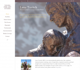 Sculptor Lena Toritch's Website