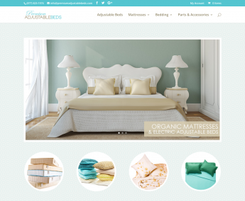 Adjustable Bed Ecommerce Website